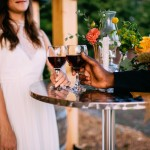 mariage table vignoble